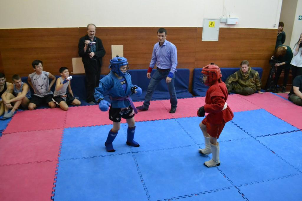 Соревнования по рукопашному бою в ПМК Славяне